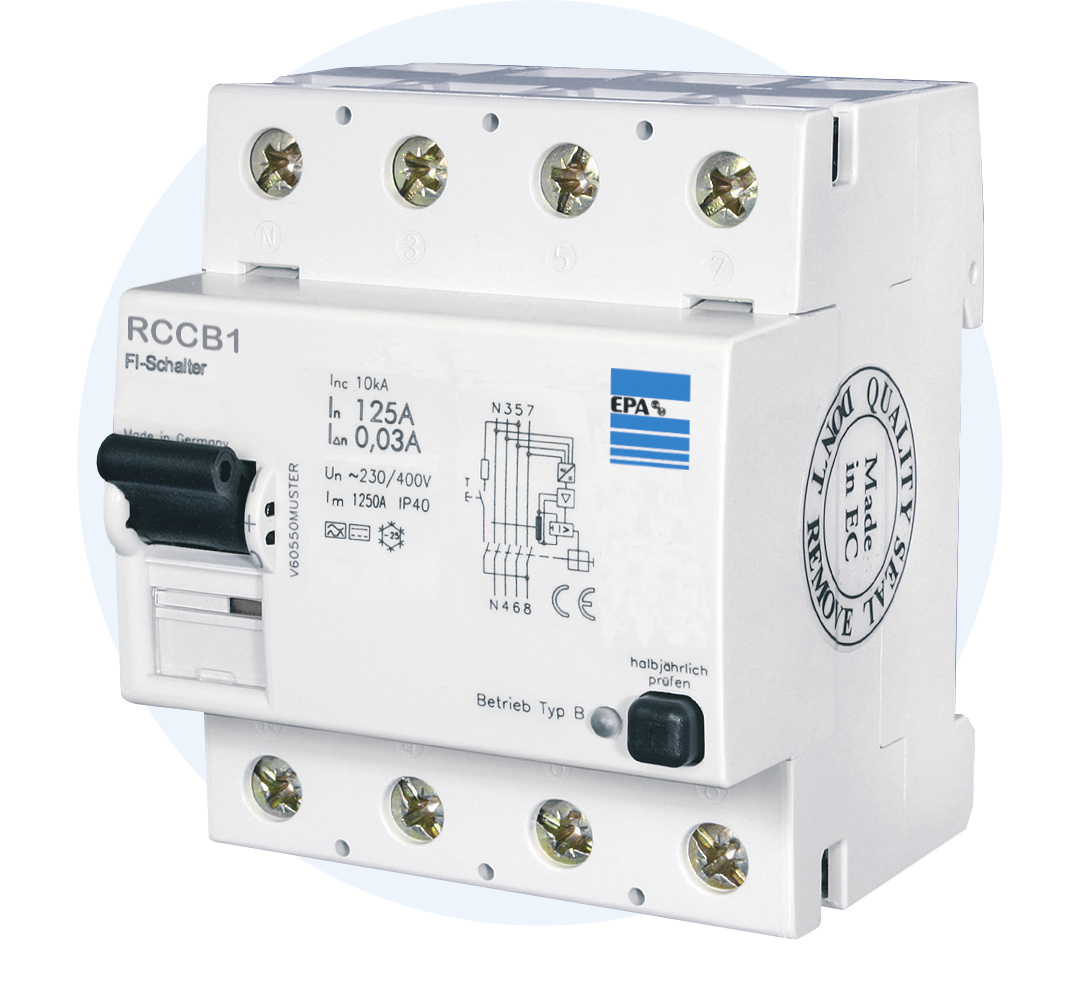 Residual Current Circuit Breaker Type B – EPA GmbH (en)