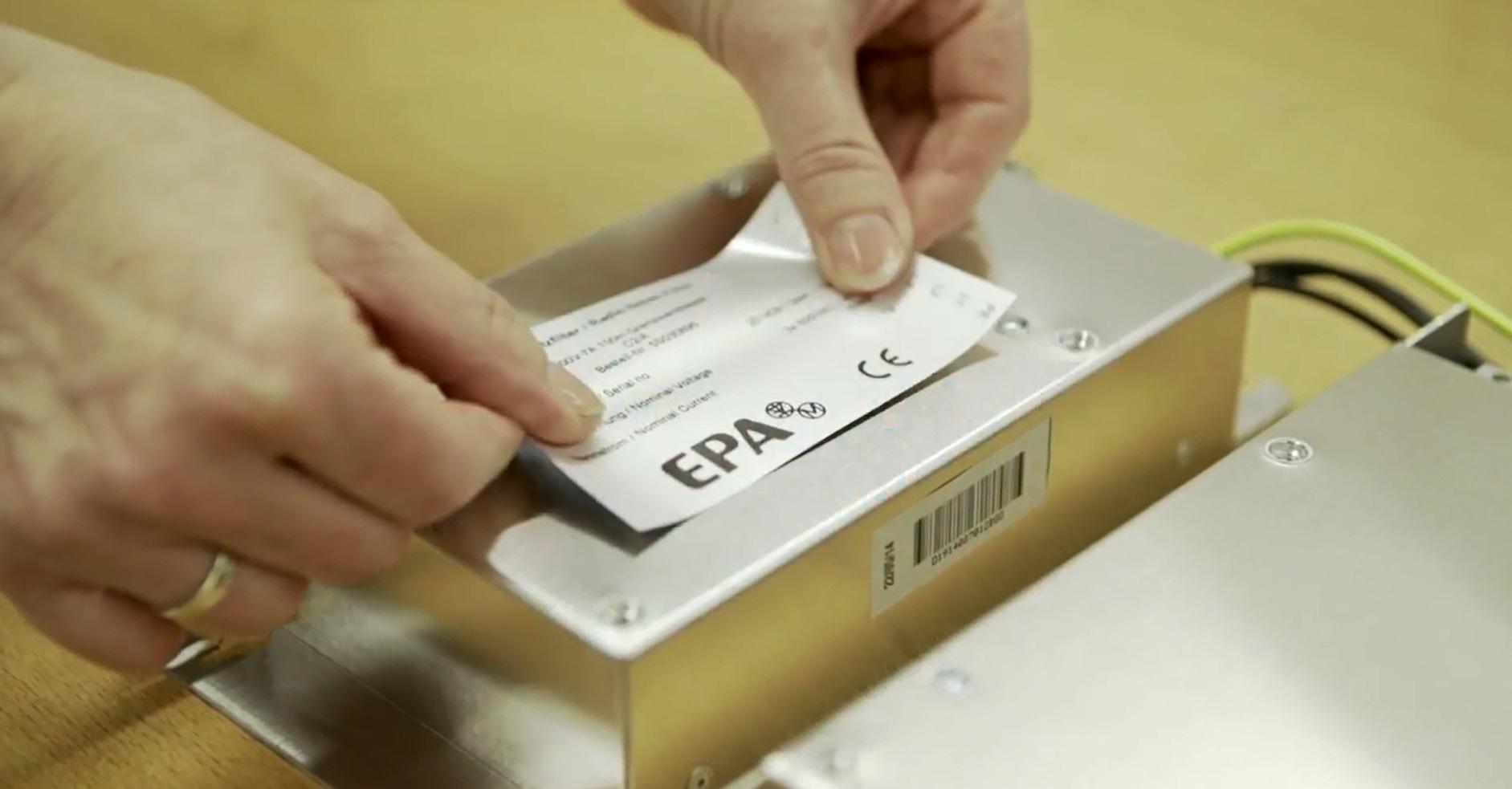 Kundenspezifische Labels