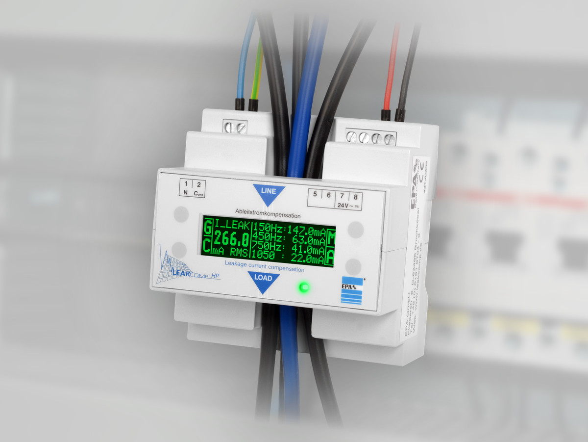 Leakage current compensation <strong>LEAK</strong>COMP<sup>®</sup> <em><strong>HP</strong></em>